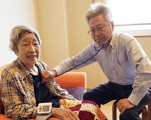 大府セントラルクリニックは、病院に通院困難な方の在宅で療養をサポートします。